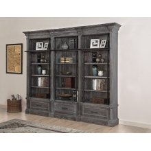 Gramercy Park 3 piece Museum Bookcase Set (9030 and 2-9031)