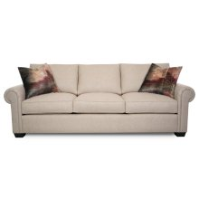 INSPIRE Sofa (Lawson Arm, Low Corner Pleat Back, T Cushion, Clean Base, Tapered Leg & Welt)