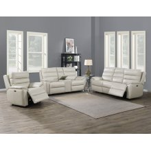 """Duval Pwr/Pwr Recliner Ivory 42"""" x 38.5"""" x 41"""""""