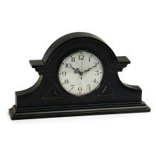 Black Mantel Clock