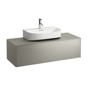 Gold & Nero Marquina Drawer element, 1 drawer, matching washbasins 816341, 816342, centre cut-out Product Image