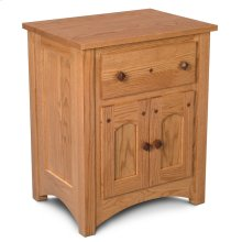 Royal Mission Nightstand with Doors