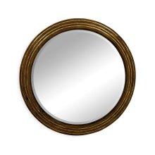 Circular stepped surround mirror (Small plain glass)