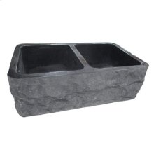 Bowdon Double Bowl Granite Farmer Sink - 33""