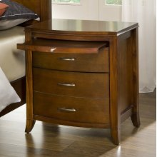 Brighton Nightstand with Charging Station