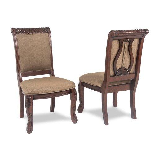 "Harmony Harpback Arm Chair Cherry, 25""x27""x41"", Box Seat"