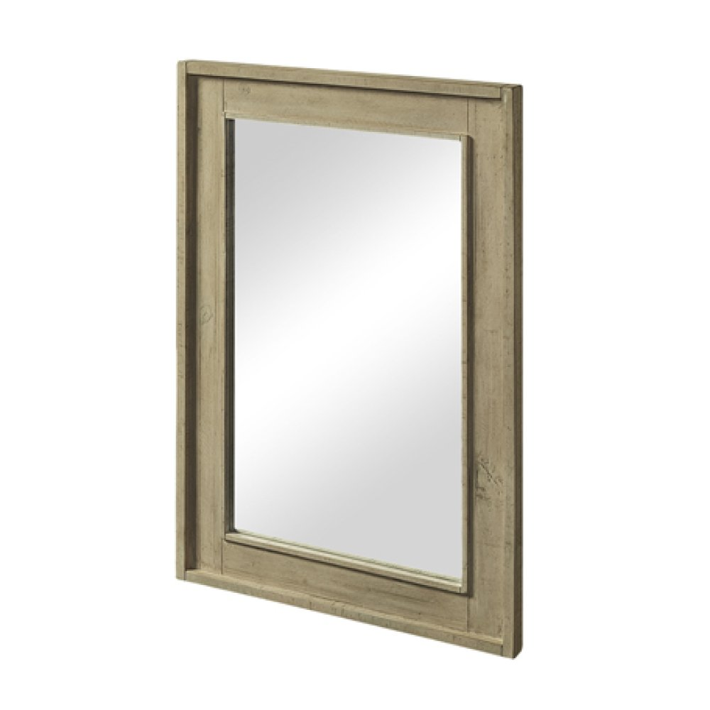 "River View 25"" Mirror - Toasted Almond"