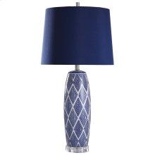 L317860  Alton  34in Ceramic Body Table Lamp  150 Watts  3-Way
