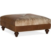 Bradington Young Juno Cocktail Ottoman 345-OT