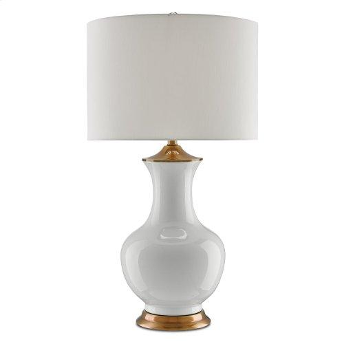 Lilou White Table Lamp