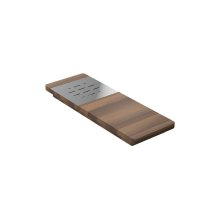 Presentation board 210062 - Walnut Fireclay sink accessory , Walnut