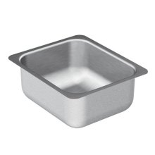 "2000 Series 12""x14"" stainless steel 20 gauge single bowl sink"