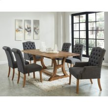Aspen/Lucian/Melia 7pc Dining Set, Grey