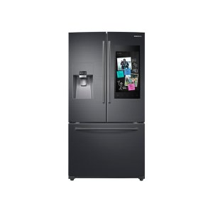 24 cu. ft. Family Hub™ 3-Door French Door Refrigerator in Black Stainless Steel Product Image