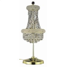 1800 Primo Collection Table Lamp Gold Finish