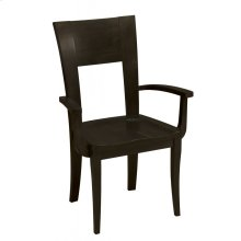 Model 22 Arm Chair Wood Seat