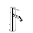 """Bidet mixer, with 1 1/4"""" pop-up waste and flexible hoses with 3/8"""" connections Product Image"""