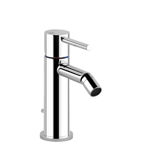 "Bidet mixer, with 1 1/4"" pop-up waste and flexible hoses with 3/8"" connections"