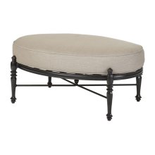 Grand Terrace Cushion Oval Ottoman