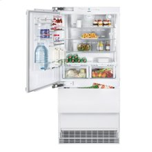 "36"" Combined refrigerator-freezer with BioFresh and NoFrost for integrated use"