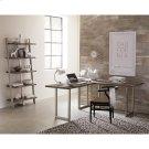 Waverly - L Desk Top - Sandblasted Gray Finish Product Image
