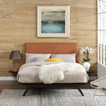 Tracy 3 Piece Queen Bedroom Set in Cappuccino Orange