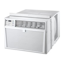 24K BTU Electronic Control w/remote & supplemental heat Heat/Cool Air Conditioner