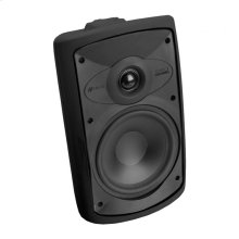 Black, Indoor/Outdoor Loudspeaker; 6-in. Poly Woofer 2-Way-Black OS6.3 - Black