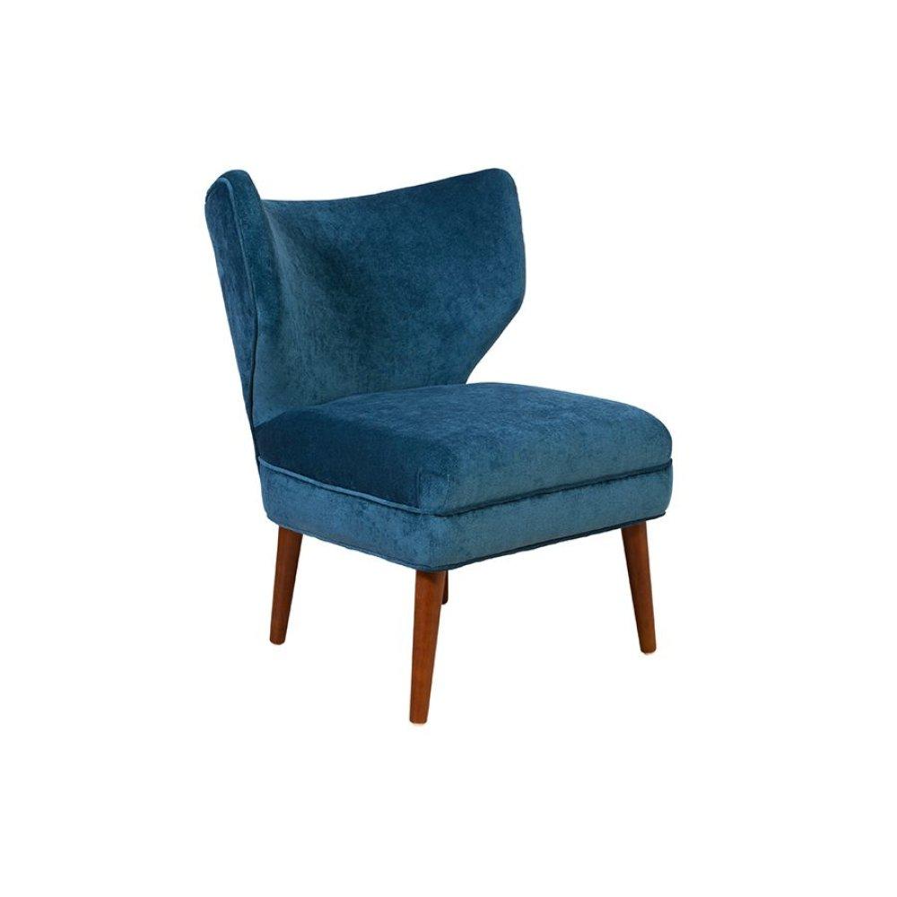Layla Ocean Blue Accent Chair, AC6289