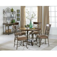 Standard Furniture 13420 Bombay Round Dining Table Aztec Houston Texas