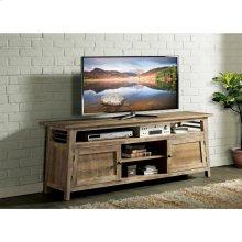 Rowan - 76-inch TV Console - Rough-hewn Gray Finish