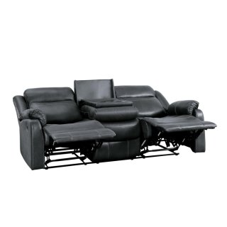 Yerba Lay Flat Reclining Sofa w/ Drop-Down Cup Holders