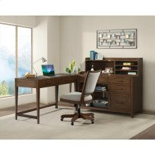 Vogue - Corner Unit - Plymouth Brown Oak Finish