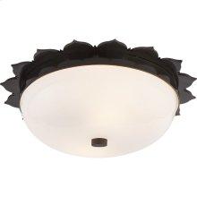 Visual Comfort AH4029GM-WG Alexa Hampton Rachel 2 Light 14 inch Gun Metal Flush Mount Ceiling Light