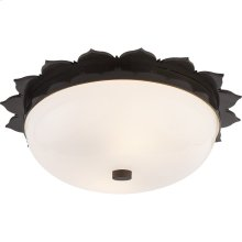 Visual Comfort AH4029GM-WG Alexa Hampton Rachel 2 Light 14 inch Gun Metal Flush Mount Ceiling Light