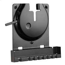 Black- Secure mount for any flat surface.