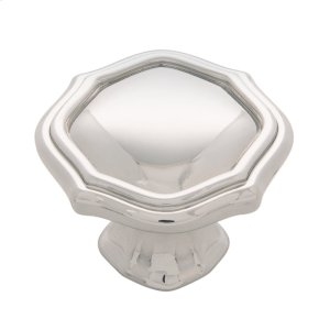1-1/2 In. Trellis Knob - Polished Nickel Product Image