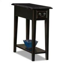 Slate Shaker Chairside w/ Slate Top #9017-SL/SL
