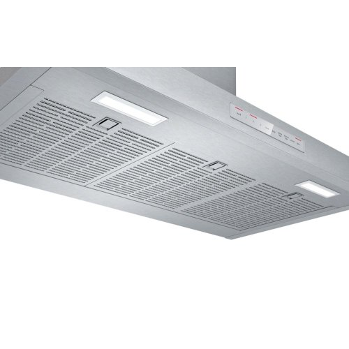 "300 Series 36"" Pyramid Canopy Chimney Hood, 600 CFM, HCP56652UC, Stainless Steel"