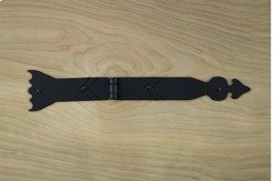"Black 11"" Spear Strap Hinge 481018 Product Image"