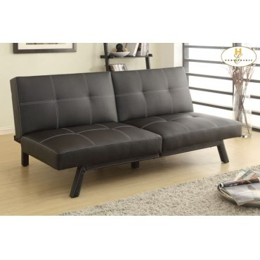 Elegant Lounger Sofa: 71 x 37.5 x 31H Bed: 71 x 43.25 x 13.5H