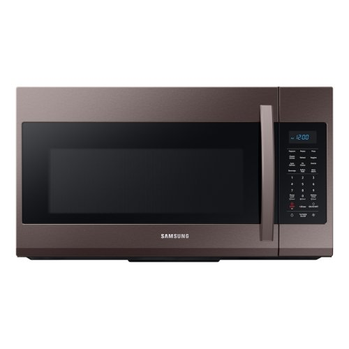 1.9 cu ft Over The Range Microwave with Sensor Cooking in Fingerprint Resistant Tuscan Stainless Steel