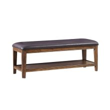 Telluride Backless Bench with Cushion