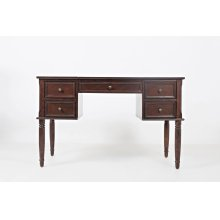 Avignon Birch Cherry Flip Top Desk
