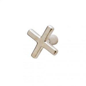 Cross Knob - K235 Silicon Bronze Brushed Product Image