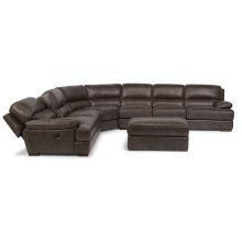 Jade Leather Sectional