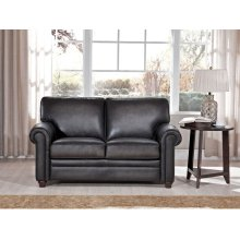 Love Seat in Oakley-Smoke