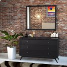 Tracy Dresser and Mirror in Black Product Image