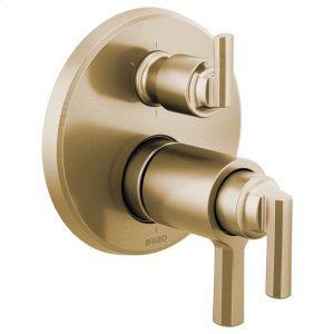 Tempassure® Thermostatic Valve With Integrated 6-function Diverter Trim Product Image