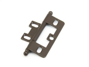 Solid Brass, Hinge, Ball Tip Non-Mortise, Oil Rubbed Bronze finish Product Image